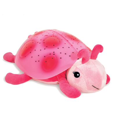 Image of CloudB Natlampe Twilight ladybug pink