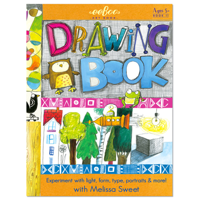 Image of Eeboo Artbooks, Drawing Book (EARTBK2)