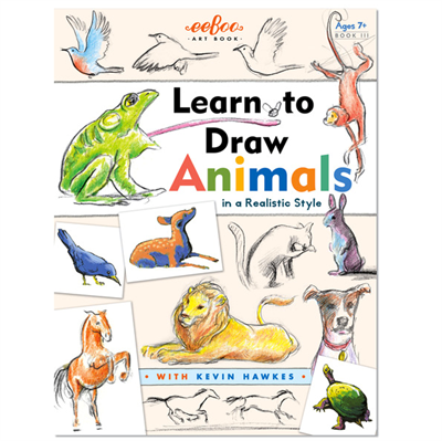 Image of   Eeboo Artbooks, Learn to draw animals