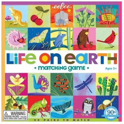 Image of   Eeboo Matching Game Life On Earth