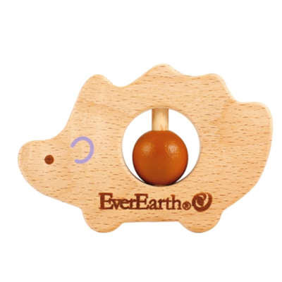 Image of   EverEarth Grasping Toy Hedgehog