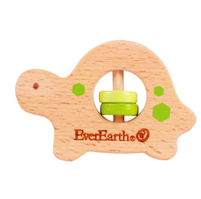 Image of EverEarth Grasping Toy Turtle