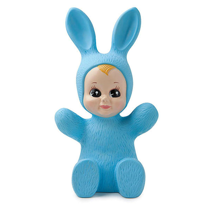 Image of   Goodnight Bunny Baby rabbit Lamp, blue
