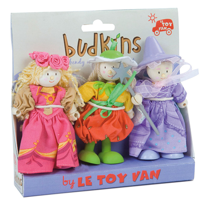 Image of Le Toy Van Budkins Fairytale Gift Pack (LBK906)