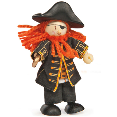 Image of Le Toy Van Budkins Piraten Barbarossa (LBK998)