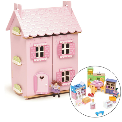 Image of   Le Toy Van Dukkehus My First Dreamhouse