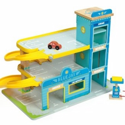 Le Toy Van Garage Bluejay