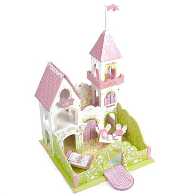 Image of   Le Toy Van Prinsesseslot i træ Fairybelle Tower