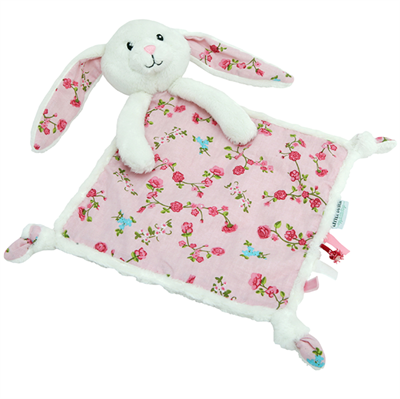 Image of Little Dutch Cuddle cloth rabbit, Pink blossom (LDT4300)