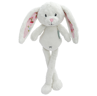 Image of Little Dutch Cuddly toy rabbit, Pink blossom (LDT4304)