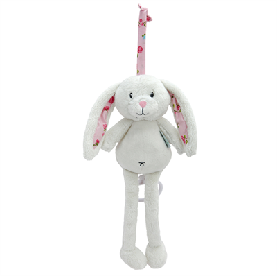 Image of Little Dutch Musical box rabbit, Pink blossom (LDT4314)