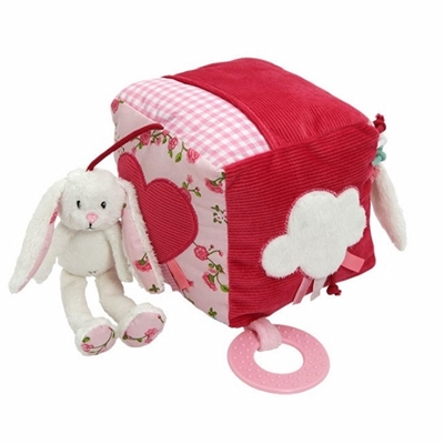 Image of Little Dutch Activity cube rabbit, Pink blossom (LDT4326)