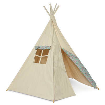 Little Star Tipi flowers Legetelt