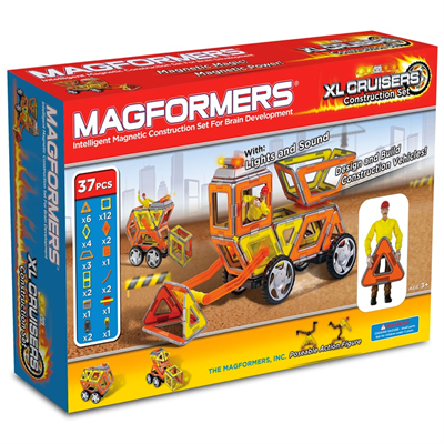 Image of Magformers XL Cruisers Construction Set (Mag3009)