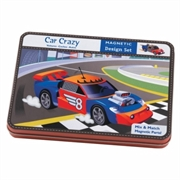 Mudpuppy Magnetic set Car Crazy