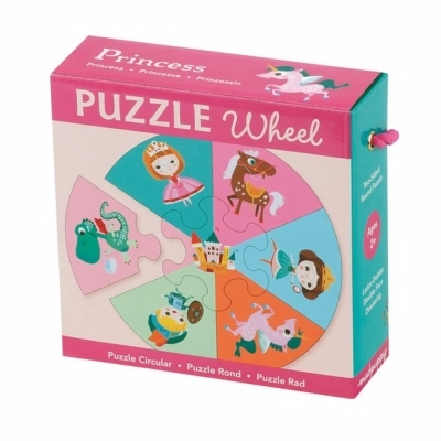 Mudpuppy Puzzle wheel princess
