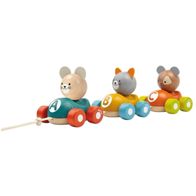 Image of Plantoys Animal Train (PT5676)