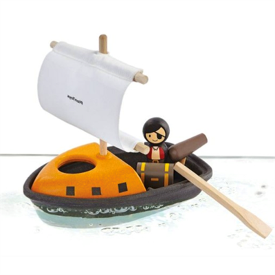Image of   Plantoys Piratbåd