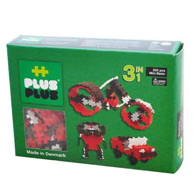 Plus Plus MINI Basic 220 pcs. 3in1