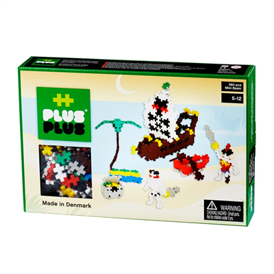 Image of Plus Plus MINI Basic 360 pcs Pirates (2-588)