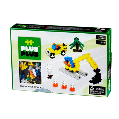 Plus Plus MINI Basic 360 pcs Road Construktion