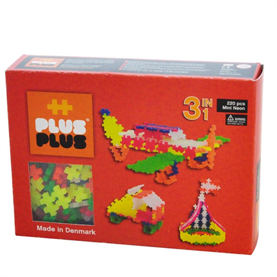 Image of Plus Plus MINI Neon 220 pcs. 3in1 (2-581)