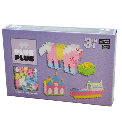 Plus Plus MINI Pastel 480 pcs. 3in1