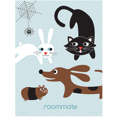 Image of Roommate Plakat Best friend family (Room40200)