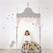 Roommates Wallsticker Juliette Headboard