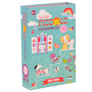 Tigertribe Colouring Set Big Girls Favourites