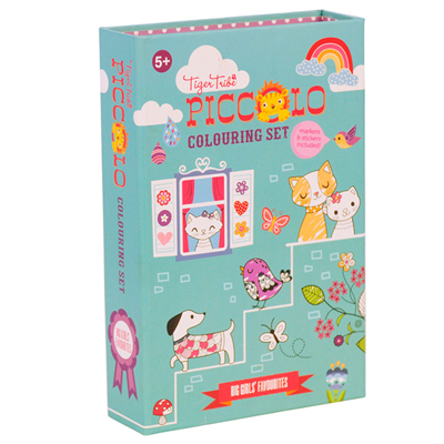 Image of Tigertribe Colouring Set Big Girls Favourites (TT6-0209)