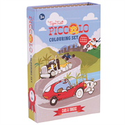Tigertribe Colouring Set Cars and Trucks