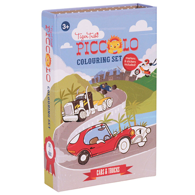 Image of Tigertribe Colouring Set Cars and Trucks (TT6-0211)