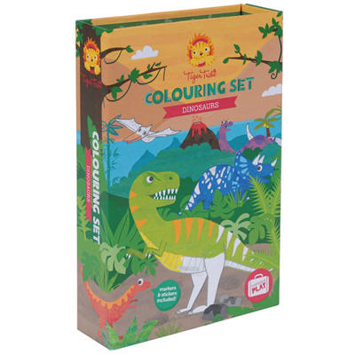 Image of Tigertribe Colouring Set Dinosaur (TT14-013)