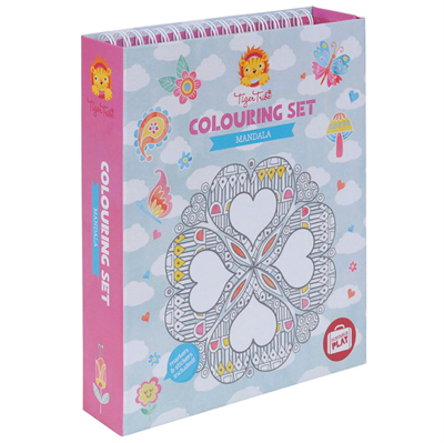Image of Tigertribe Colouring Set Mandala (TT14-008)
