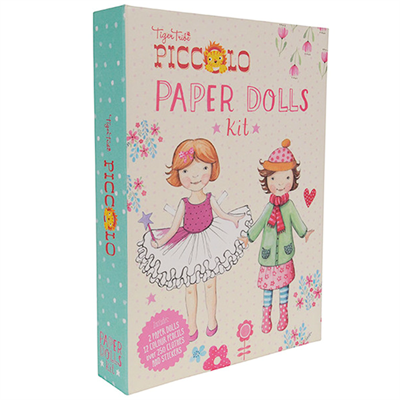 Image of Tigertribe Piccolo Paper Dolls Kit (TT6-0220)