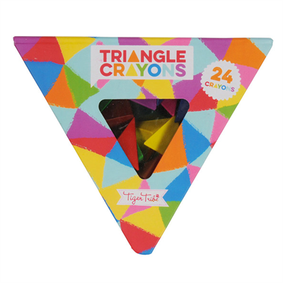 Image of Tigertribe Triangle Crayons (TT6-0222)